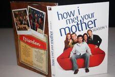 HOW I MET YOUR MOTHER Season 1 -- DVD - PAPPSCHUBER 22 Episoden auf 3 DVD's
