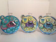 Lot Of 3 Pixel Chix Road Trippin' Interactive Beetle Cars 2005 Pink Purple Blue
