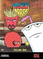 Aqua Teen Hunger Force ~ Complete First Volume 1 One  DVD  3 HOURS ! ADULT SWIM