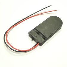 10x Portapilas para 2x Pila de botón CR2032 con encendido /Apagado Interruptor,
