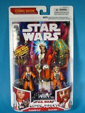 Star Wars comic pack X-Wing Rogue Squadron #13 PLOURR ILO & DLLR NEP Walmart !