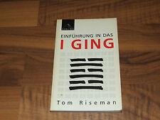 Einführung in das I Ging Tom Riseman TB SPHINX 1988