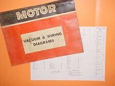 1967 1968 1969 1970 1971 MERCURY COUGAR XR-7 CONVERTIBLE VACUUM+WIRING DIAGRAMS