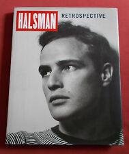 HALSMAN RETROSPECTIVE LIVRE EO  EDITIONS DU COLLECTIONNEUR  ETAT NEUF