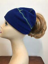 Sperry Top Sider Women's Fleece Ponytail Beanie Running Hat Reflective Back OSFM