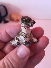 Vintage Terrier Dog HUBLEY Card Holder Puppy Adorable