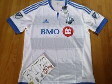NWT Montreal Impact MLS Soccer Football Adidas Adizero S/S Jersey Men XL