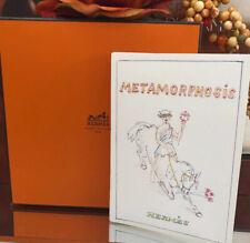 Hermes Philippe Dumas Card Sketchings Season's Greetings 2014 Now On Sale