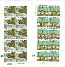 ZIMBABWE 2007 SAPOA Animal issue full sheets UMM - see description and scans
