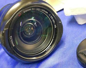 Camera Lens Minolta AF28-105/3.5-4.5