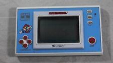 Super Mario Bros Nintendo Game & Watch Portable System GREAT Shape