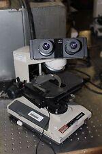 Olympus  BHTU Series BH2 Microscope  W/ 10X/20L EYE PIECES #40 OBJECTIVE