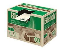 AGF Blendy Regular Drip Coffee Pack Special Blend 100cups