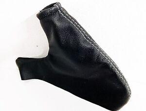 MG F dal 1995 al 2000 CUFFIA leva freno a mano IN VERA nera cuciture grigie