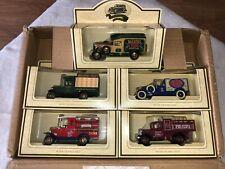 Lledo Walkers Crisp Delivery Vans - Days Gone Collection of 5 Die Cast Models