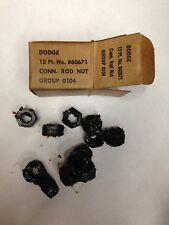 Dodge WC, M37 NOS Engine Rod Nut Set,G-505, G-502, G-741