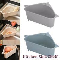 KQ_ Triangle Storage Holder Multifunction Drain Shelf Kitchen Bath Sink Rack Bas