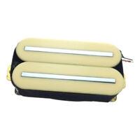 Double Pickup Set Bridge & Neck Humbucker for Electric Guitars - Yellow
