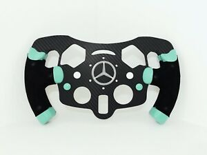 F1 Style Open Sim Wheel For Logitech G29 PS4 - 3D Printed - ANSE3D.COM
