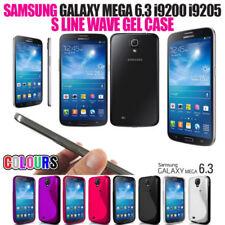 Cover e custodie Per Samsung Galaxy Mega in pelle sintetica per cellulari e palmari