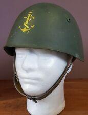 WW2 Italian Royal Navy Helmet Decima Mas RSI reused post war