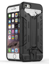 For iPhone 7 & 8 Armour Protective Silicon Credit Card Wallet Stand Case Cover