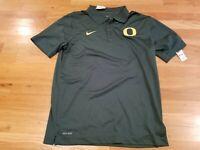 NWT NEW Oregon Ducks Green Nike Men's Stadium Polo Shirt Size Medium