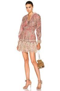 Zimmermann Tulsi Paisley Cotton Silk Dress Size 1