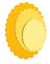 Sizzix Framelits Scallop Oval set #657564 Retail $19.99 4 perfect OVALS!