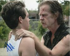 SHAMELESS ETHAN CUTKOSKY SIGNED TALKING WITH FRANK GALLAGHER 8X10