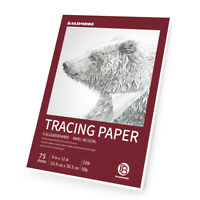 "9""x12"" Artist's Tracing Paper Pad, 75 Sheets Translucent for Pencil, Marker and"