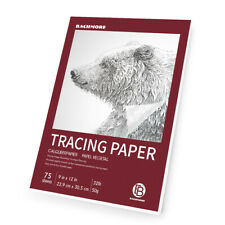"""9""""x12"""" Artist's Tracing Paper Pad, 75 Sheets Translucent for Pencil, Marker and"""