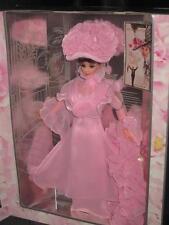 1996 Barbie MY FAIR LADY as Eliza Doolittle Audrey Hepburn Pink Gown #15501 NRFB