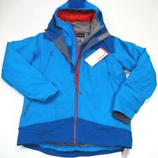$700 Men's Atomic Cliffline Stormfold Jacket (2 in 1)  Size Large Blue NWT