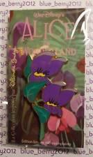 DLP Eleonore Bridge ALICE Pin Violets Violettes Disney land Paris trading event