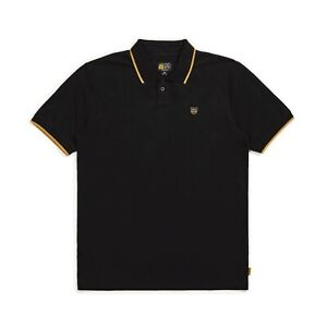 BRIXTON X INDEPENDENT TRUCK CO GUARD S/S POLO SHIRT BLACK