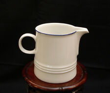 "MLA20 by Melitta WHITE WITH BLUE TRIM CREAMER 3 "" H  MADE IN GERMANY"