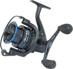 MAP 4500 5500 Dual Feeder Spinning Match Fishing Reels + Double Handle NEW