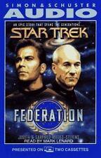 Star Trek: Federation;  (1994 2 cassettes) very good condition