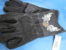 New listing Licensed Harley Davidson Motorcycle Gauntlet Welding Gloves Leather New Eagle Xl