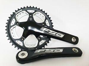 FSA Road Bike Omega Crankset 172.5mm 10 11 Speed 46T 36t 110BCD Shimano BB30