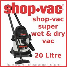 SHOP VAC 20LTR WET & DRY VACUUM DUST EXTRACTOR 1400W