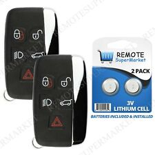 2 Replacement for Land Rover 2012-2017 Range Rover Evoque Sport Remote Key Fob