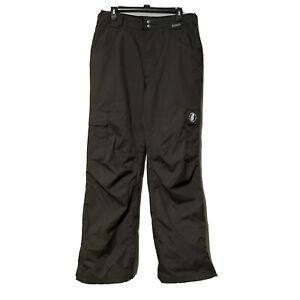 Grenade Fatigue Mens Charcoal Gray Snow Ski Snowboard Pants Size Medium