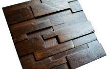 Pannelli in legno per parete, 3d in legno con, VINTAGE, Pannelli Parete Copertura, legno mosaico