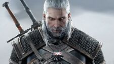 POSTER THE WITCHER 2 3 WILD HUNT WOLF LUPO GERALT OF RIVIA VIDEOGAME FANTASY #14