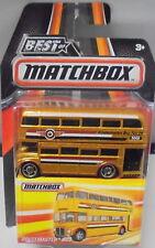 KKar Matchbox - 2016 Best of Matchbox - Routemaster Bus - Gold