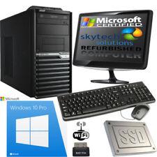 PC de bureau professionnel Acer avec windows 10