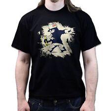 Banksy Mario Banana Kart Hooligan T-shirt P527