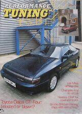 Performance Tuning magazine 05/1988 Toyota Celica, Mini, Alfa Romeo, Peugeot